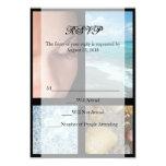 "Luxury Spa Resort Theme 3.5"" X 5"" Invitation Card"