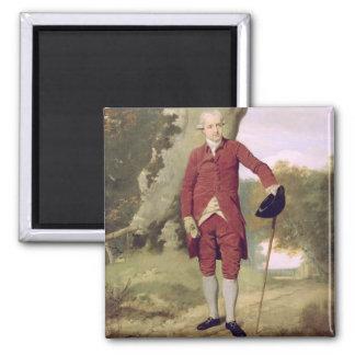 M. Thrale, c.1770-80 (huile sur la toile) Magnet Carré