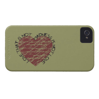 Mad Love Distressed Heart Blackberry Case