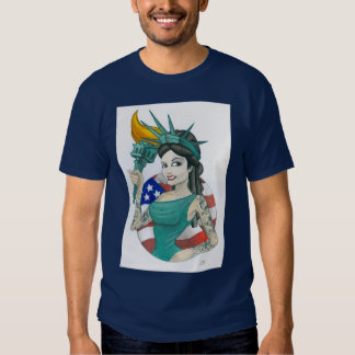 """Madame Liberty 2011 "" Tee-shirt"