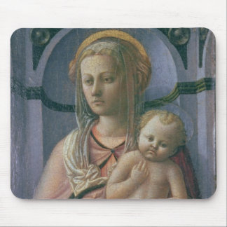Madonna and Child (tempera on panel) Mouse Pad