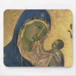 Madonna and Child with SS. Dominic and Aurea Mouse Pad