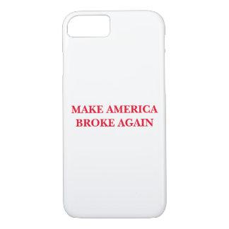 'Make America Broke Again' iPhone case