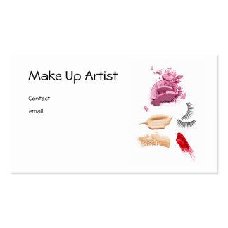 Make Up Artist Carte De Visite Standard