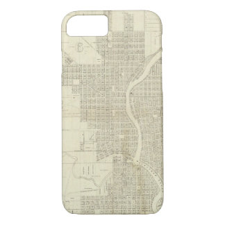 Map of Milwaukee iPhone 7 Case