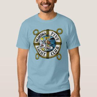 Marina Five Yacht Club T-shirts