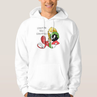 MARVIN THE MARTIAN™ Reclining With Laser Hooded Sweatshirts