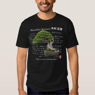 Masahiko Kimura 木村正彦 Bonsai master Shirts