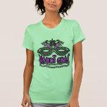Masque et perles de mardi gras de KRW T-shirts