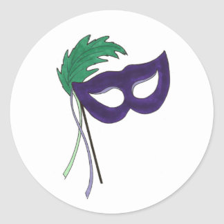 Masquerade Mask Stickers