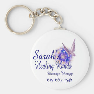 Massage Therapy in Franklin Tennessee Basic Round Button Keychain
