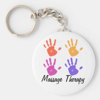Massage Therapy keychain