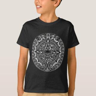 Mayan Aztec Calendar (black) Dec.21, 2012 T Shirts