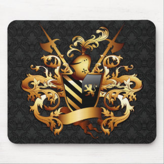 Medieval Coat of Arms Mouse Pad
