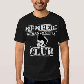 Membre : Club de haineux de femme - blanc Tshirt