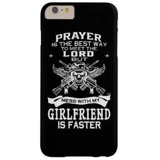 MESSING WITH MY GIRLFRIEND BARELY THERE iPhone 6 PLUS CASE