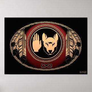 Metis Art Poster Spirit Animal Native Print Poster