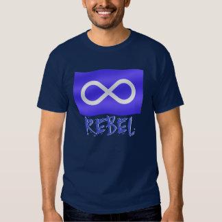 Metis Rebel Rebel Metis Flag Shirts Metis Flag Top