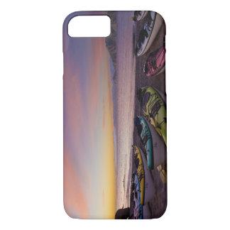 Mexico, Baja, Sea of Cortez. Sea kayaks and iPhone 7 Case