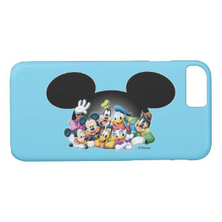 Mickey & Friends | Group in Mickey Ears iPhone 7 Case