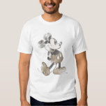 Mickey Mouse Vintage Washout Design Tshirts