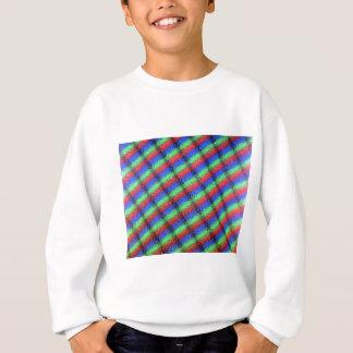 Microstructure d'affichage à cristaux liquides t-shirt
