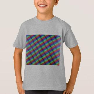 Microstructure d'affichage à cristaux liquides tee shirt