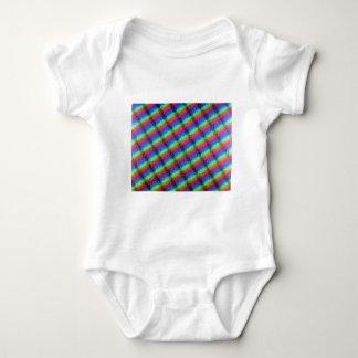 Microstructure d'affichage à cristaux liquides tee-shirts