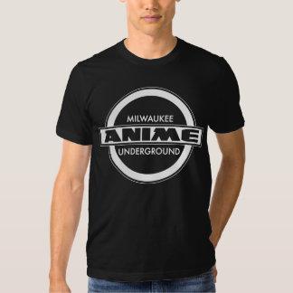 Milwaukee Anime Underground White Logo Shirts