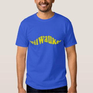 Milwaukee Baseball Mustache Tshirts