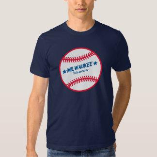 Milwaukee Baseball T Shirt
