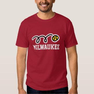 Milwaukee tennis t-shirt for men women and kids