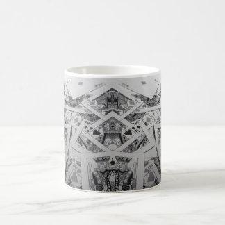 Mirror Image Playing Cards Classic White Coffee Mug