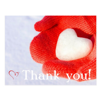 Mittens for Detroit Thank You Postcard