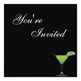 Mocktail Birthday Party Invitation