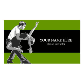 Modèle de carte de visite d'instructeur de sport d