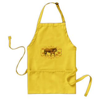 Mommy And Foal Standard Apron