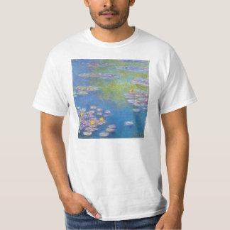 Monet Yellow Water Lilies T-shirt