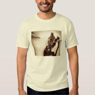 monkeys in a tree t-shirts