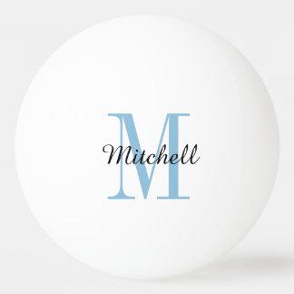 Monogram Personalized Ping Pong Balls Ping Pong Ball