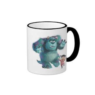 Monsters Inc. Boo & Sulley  Ringer Coffee Mug
