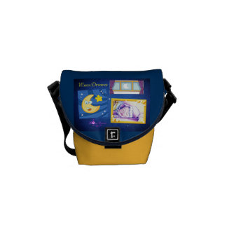 MoonDreams RickShaw Messenger Bag