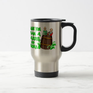 More Fun Than A Barrel Of Monks 15 Oz Stainless Steel Travel Mug
