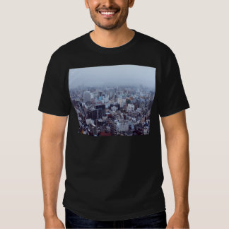 Morning Themed, A Picture Of A City Taken In The T-shirt