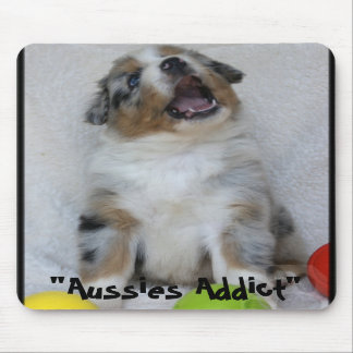 "Mouse mat ""Baby Aussies Addict "" Mouse Pad"