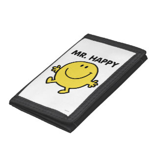 Mr. Happy | Dancing & Smiling Trifold Wallet