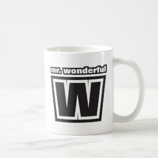 Mr Wonderful Classic White Coffee Mug