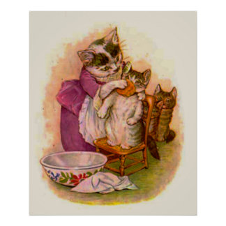 Mrs. Twitchit and Moppet (in 23 sizes) Poster