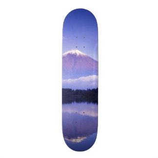 Mt. Fuji with Lenticular Cloud, Motosu Lake, Skateboard Decks