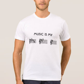 Music Is My BAG Key Signature Spelling T-shirts